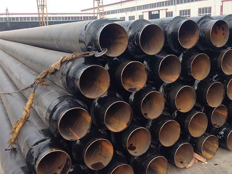 钢套钢蒸汽保温管